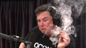 musk smoking a joint tech ceo